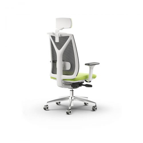 Varja-vzglavnik-ergonomski-pisarniski-stol-bel